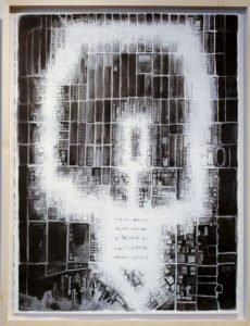 "Lightbulb 1 OFF (walk through Ballard | 18"" x 25"" | 2014"