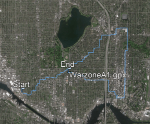 warzone, a (part 1), 7.2 miles, walked after Nice, July 15, 2016
